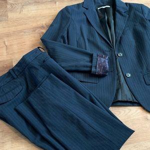 GAP women's pinstripe suit
